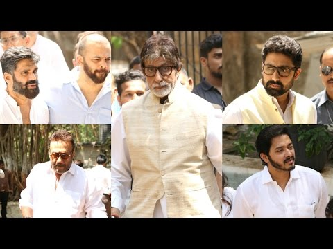 UNCUT: Celebs At Suniel Shetty's Father's Funeral