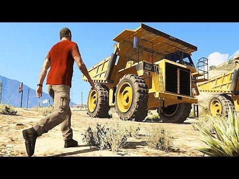 Grand Theft Auto V - Gameplay With a Secret Cars -