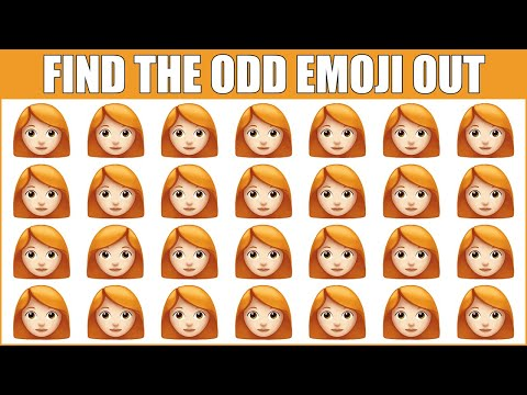 HOW GOOD ARE YOUR EYES #155 l Find The Odd Emoji Out l Emoji Puzzle Quiz