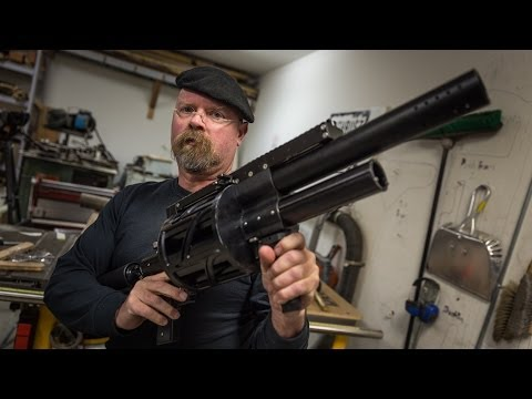Jamie Hyneman's High-Pressure Air Gun