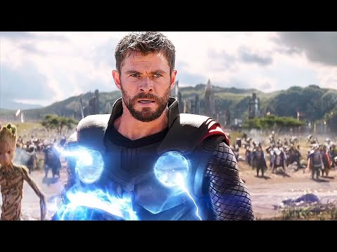 Thor Arrives In Wakanda Scene - Avengers Infinity War (2018) Movie CLIP 4K ULTRA HD