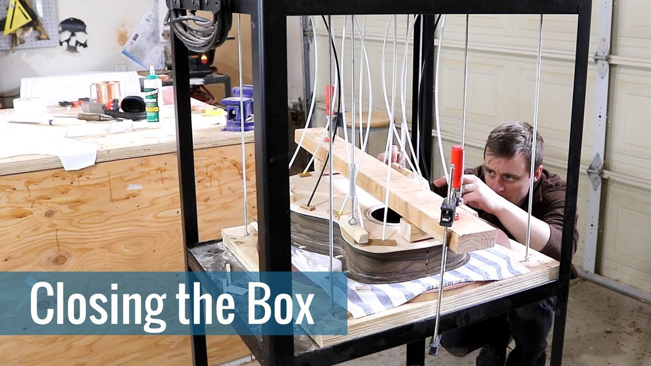 Closing the Box (Ep 17 – Acoustic Guitar Build)