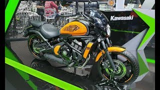 8. 2019 Kawasaki Vulcan S Cafe | Orange/Black |