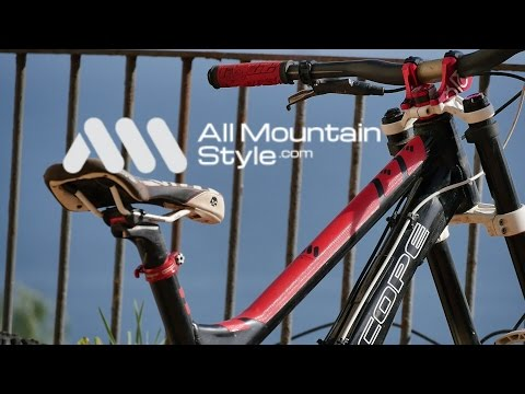 All Mountain Style frame guard installation (видео)