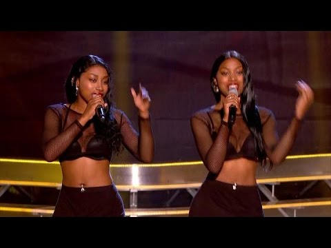 "DTwinz song ""Shy Guy"" - The Voice UK 2015 