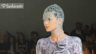First Look - Alexander McQueen Spring 2012 At Paris Fashion Week PFW | FashionTV - FTV