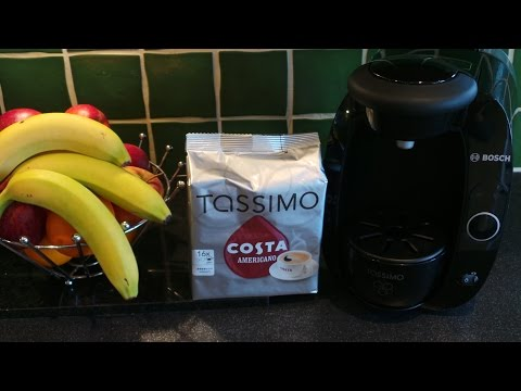HOW TO MAKE THE Best Costa Caffe Americano With The TASSIMO COFFEE MACHINE SYSTEM