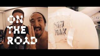 New Dim Mak Tattoo? - On the Road w/ Steve Aoki
