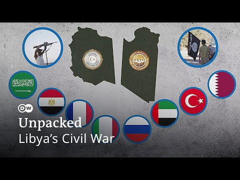 How Libya is torn apart by militias, extremists and foreign powers | Libya war UNPACKED