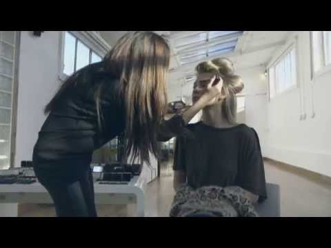 Check out the action behind the scenes of the SS14 Make Up by HD Brows campaign