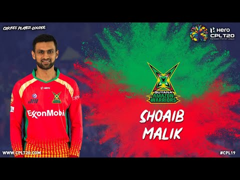 SHOAIB MALIK | PLAYER FEATURES | #CPL19