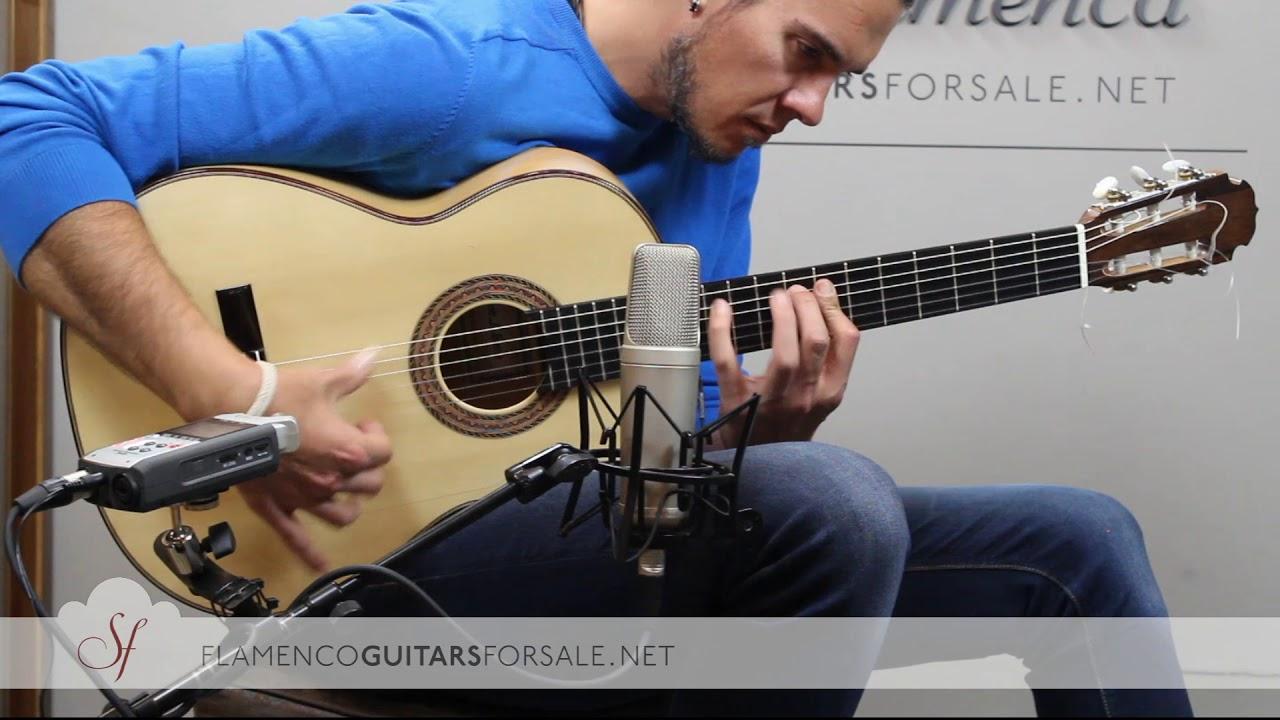 VIDEO TEST: Antonio J. García 2018 flamenco guitar for sale
