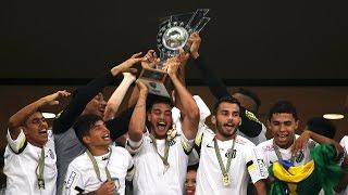 O time Sub-19 do Santos FC conquistou mais um título para o Peixe. Os Meninos da Vila venceram o Benfica por 2 a 0, com dois gols de João Igor, e foram ...