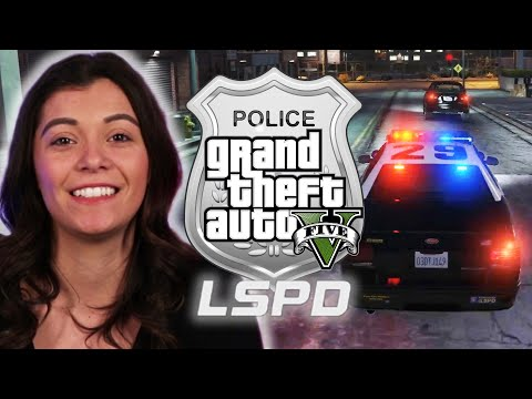 Police Officer Plays As A Cop in Grand Theft Auto V • Pro Play