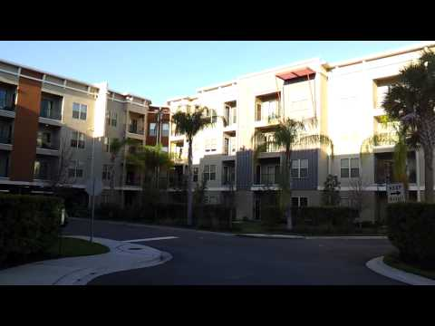 The Millennium Westshore - Luxury Apartments - Tampa, FL - Main Entrance In Morning Sunlight