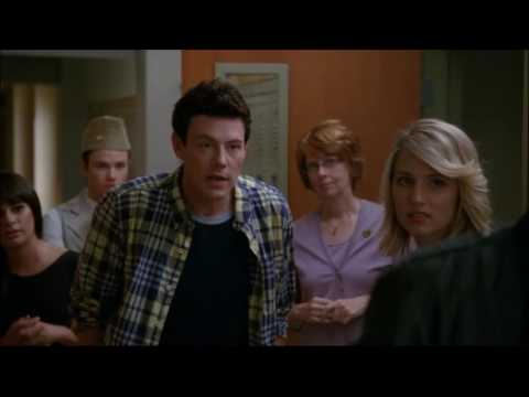 Glee - Puck passes his geography test 3x22 (видео)
