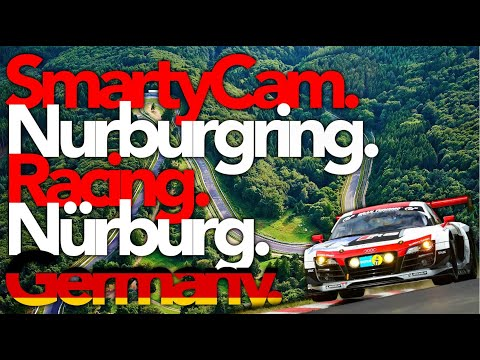 SmartyCam Nürburgring Racing Track in Nürburg, Germany