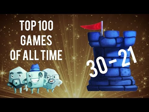 Top 100 Games of All Time: 30-21