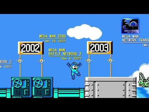 Megaman - 30 ans