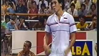 Video 1984 Thomas Cup Final Classic set 3 -Luan Jin vs Liem Swie King pt 2 of 2 Finale MP3, 3GP, MP4, WEBM, AVI, FLV Februari 2019