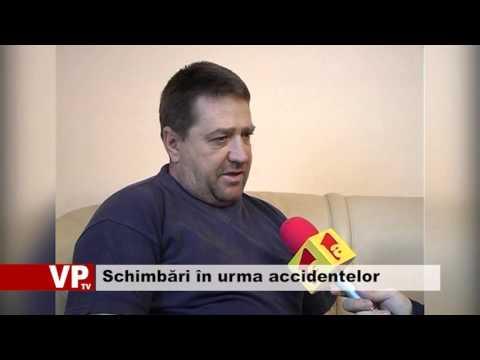 Schimbări în urma accidentelor