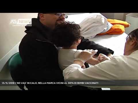 13/11/2019 | 'NO VAX' IN CALO, NELLA MARCA VICINI AL 95% DI BIMBI VACCINATI