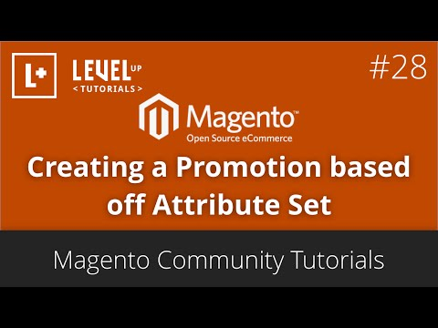 Magento Tutorials (part 49) – How to create a Promotion based off Attribute Set