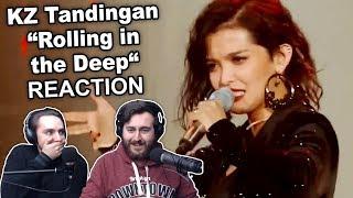 "Video ""KZ Tandingan - Rolling in the Deep"" Singers Reaction MP3, 3GP, MP4, WEBM, AVI, FLV April 2019"