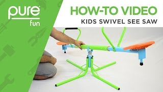 Pure Fun | How-To Video: Kids Swivel See Saw