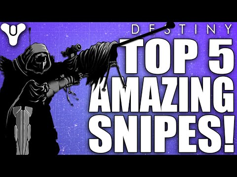 Destiny: Top 5 Amazing Sniping Clips Of The Week / Episode 52