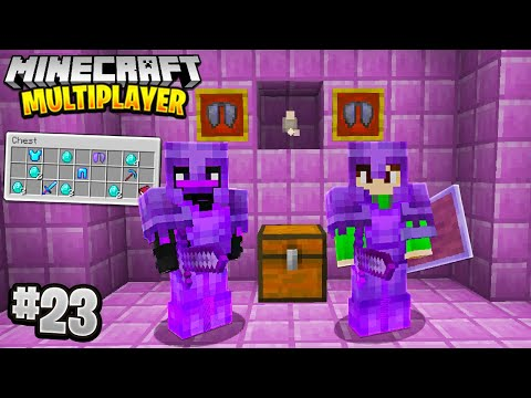 LUCKIEST END CITY in Minecraft Multiplayer Survival! (Episode 23)
