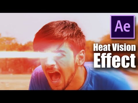 Heat Vision After Effects Tutorial