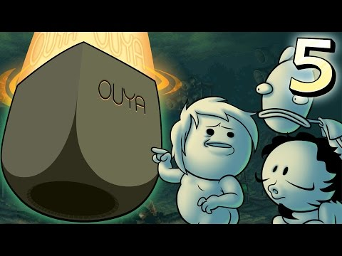 Oney Plays Ouya WITH FRIENDS - EP 5  - Is This an Art Game?