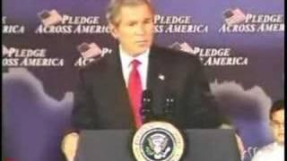 Bush – fool me once joke