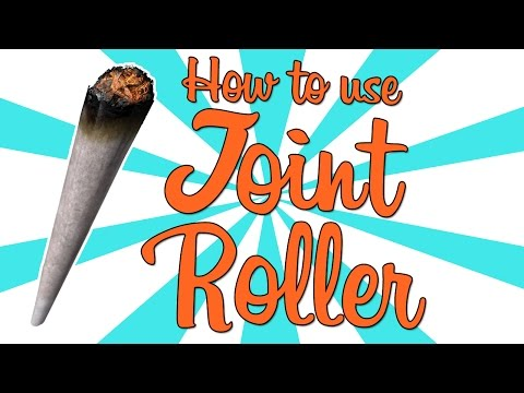 How To Use a Joint Roller!!