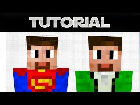 Minecraft 1.8 Skin erstellen & ändern – Tutorial (German)