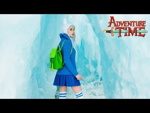 Adventure Time - Exploring The Ice King's Castle with Fionna