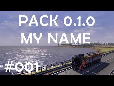 Pack My Name v0.1.0 Skin For ETS2 1.30 + DLC