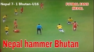 Video Nepal 7 VS 1 Bhutan ►  U16 Four Nations Tournament MP3, 3GP, MP4, WEBM, AVI, FLV Agustus 2018