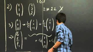 Vector Subspaces | MIT 18.06SC Linear Algebra, Fall 2011
