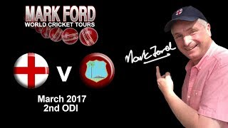 England v West Indies Cricket 5th March 2017 2nd ODI