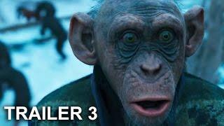 Video EL PLANETA DE LOS SIMIOS:  LA GUERRA  Trailer 3 Español Latino - War For The Planet Of The Apes MP3, 3GP, MP4, WEBM, AVI, FLV Juni 2017