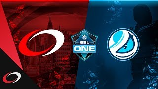 compLexity vs Luminosity - ESL One New York 2018 NA Closed Qualifier  | CS:GO Highlights