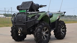 4. $9,499:   For Sale Pre Owned 2012 Kawasaki Brute Force 750 Lifted and loaded!