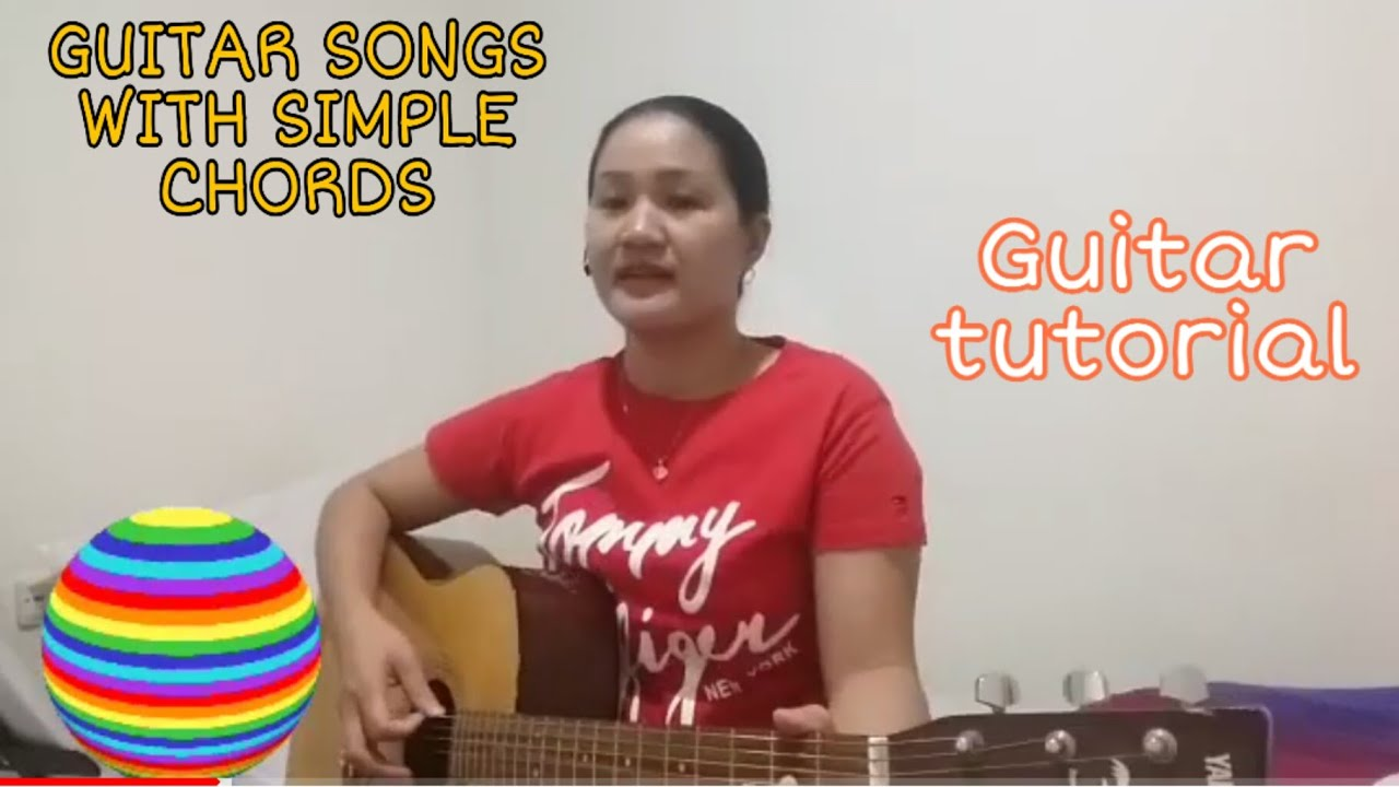 """Guitar songs for beginner entitled """"Blessed assurance"""" and """"How great thou art"""""""