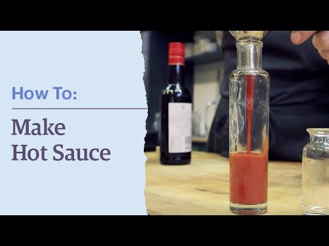 How To Make Your Own Hot Sauce