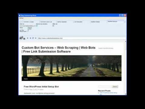 Blog Commenting Ninja - Automatically get your competitor's backlinks