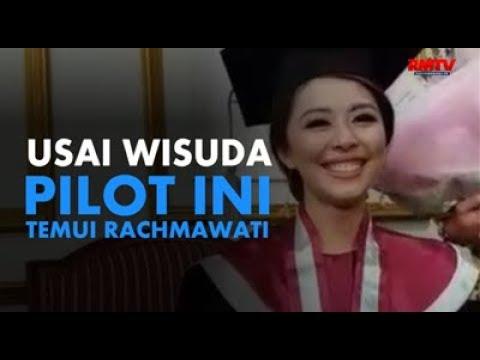 Usai Diwisuda, Pilot Ini Temui Rachmawati