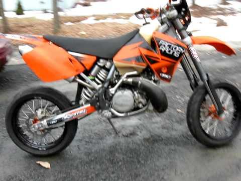 2002 KTM 250 EXC Supermoto