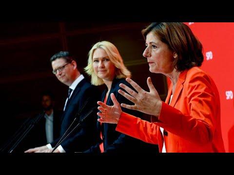SPD: Dreyer, Schwesig und Schäfer-Gümbel als Dreier-Spitze